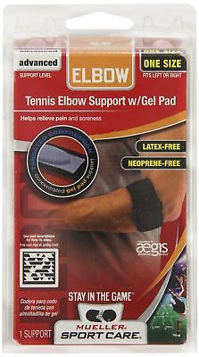 Mueller Sports Medicine Tennis Elbow Forearm Support Brace With Gel Pad
