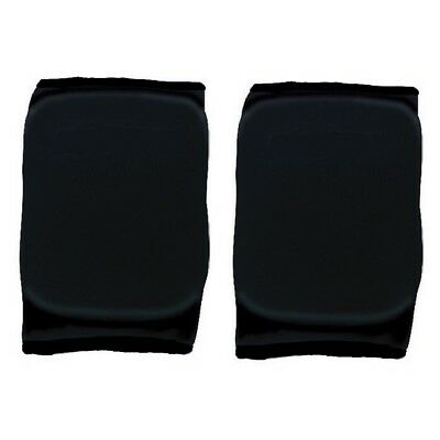 Martin Sports Volleyball Basketball Knee Pads Black, Large 1 Pair Elastic Sleeve