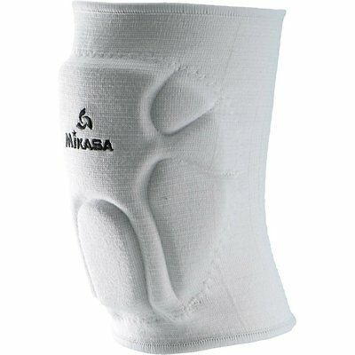 Mikasa Advanced Competition Knee Pads For Volleyball & Basketball - Youth, White