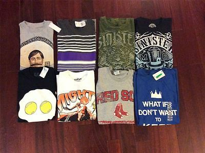 Wholesale Lot of 100 Assorted Shirts XL-4X Brand New Mens Clothing FREE SHIP