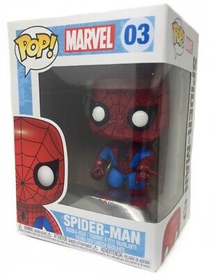 Funko Pop Marvel: Spider-Man Vinyl Bobble-Head Figure Item #2276