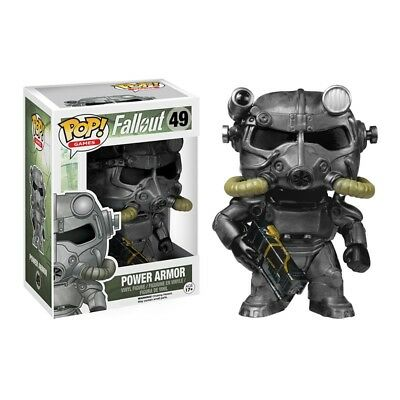 Funko Pop Games Fallout Power Armor Vinyl Action Figure Collectible Toy 49 3.75""