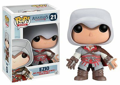 Funko Pop Games Assassin's Creed: Ezio Vinyl Action Figure Collectible Toy 3.75""