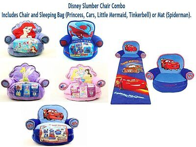 Disney Slumber Chair Combo - Chair and Sleeping Bag/Mat