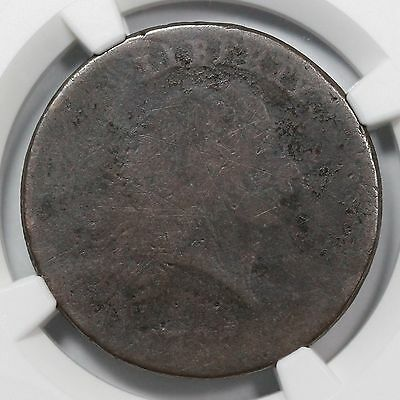 """1793 NGC Fair Details """"America"""" Chain Large Cent Coin 1c"""
