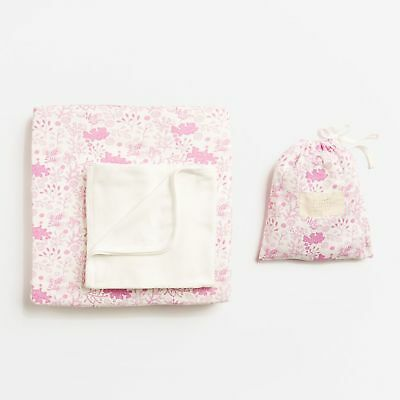 Wilson & Frenchy Wild Flower Bassinet Sheet Set
