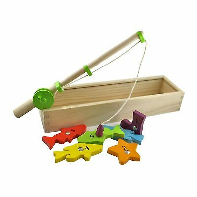NEW Baby Clothing, Gifts and Accessories Discoveroo Wooden Magnetic Fishing Set