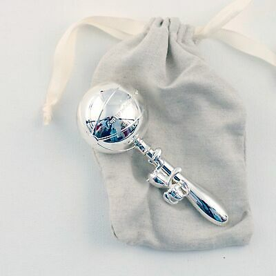 NEW Baby Clothing, Gifts and Accessories Mamas and Papas Silver Rattle