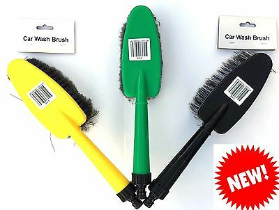 Car Wash Care Home Valeting Cleaning Hose Line Brush **NEW**
