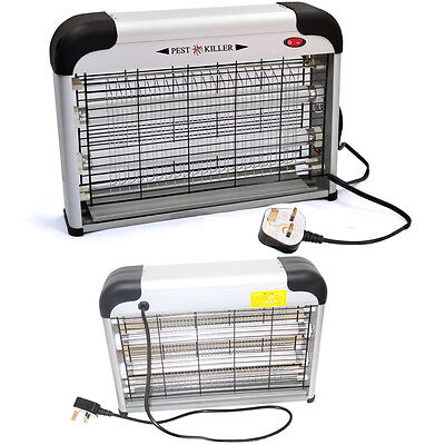 220V Electric UV Mosquito Catcher Pro Insect & Fly Killer Pest Bug Flies Zapper