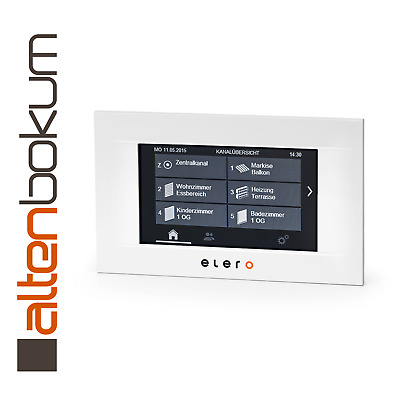 Elero MultiTec Touch-868 weiß