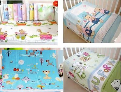 Health Cotton Cute Printed pattern Crib Baby Bed Bedding Sheets