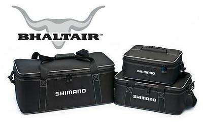 Shimano Bhaltair Reel Storage/Travel Case -Black-Adjustable Compartments