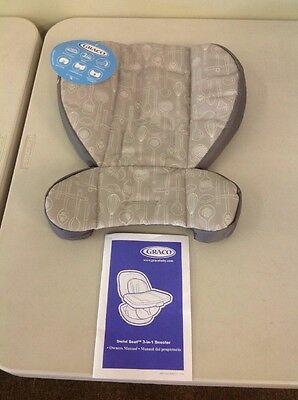 Graco Swivi Seat - Replacement Back Rest Cushion - Grey