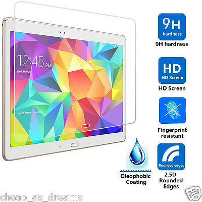 100% Genuine Tempered Glass Screen Protector Samsung Galaxy Tab 4 10.1 T530