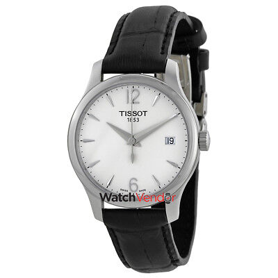 Tissot T-Classic Tradition Silver Dial Ladies Watch T0632101603700