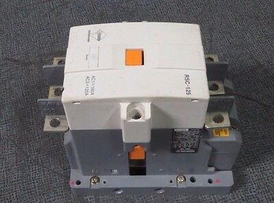 Benshaw Contactor Rsc-125  160/120 Amp 3 Phase 600 V With 100-240 Vac Coil