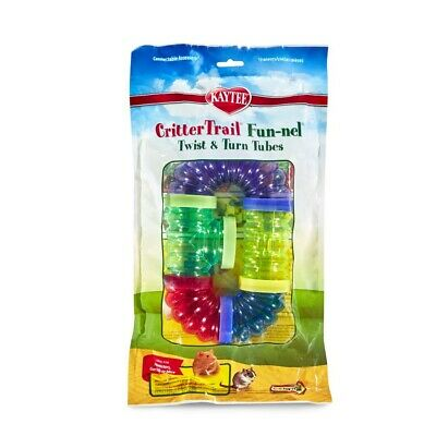 Super Pet Crittertrail Fun-Nels Twist And Turn Tubes 5pk Free Shipping