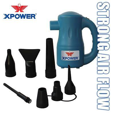 XPOWER Airrow Pro Multi Use Air Pump Electric Computer Duster Blower A2- Blue