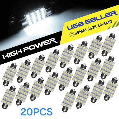 6X Super Bright White COB Car LED Lights for DRL Fog Driving Lamp Waterproof 12V