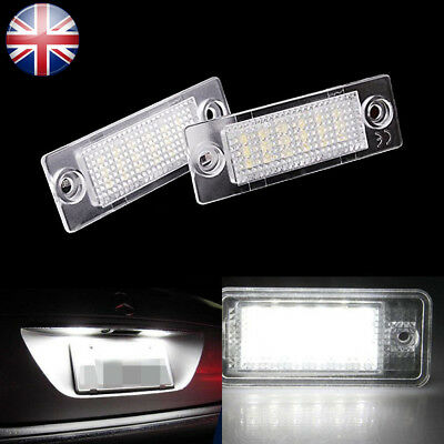 FIT VW Touran Golf Plus Skoda Jetta Passat T5 LED License Number Plate Light
