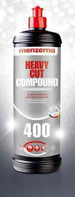 Menzerna FG400 Heavy Cut Compound 400 - 1 litre - Free Taxe