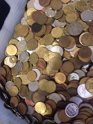50 Pounds Of Mixed Tokens