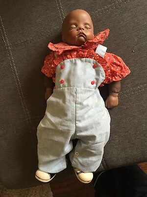 "1986 Boots Tyner Sugar Britches 18"" baby doll - ADORABLE reproduction"