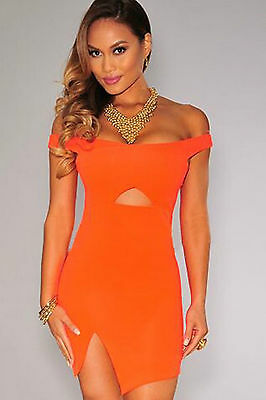 Mini Abito schiena aperta Nudo aderente Spacco Scollo Cut out Mini dress casual