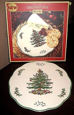 "Spode ""Christmas Tree"" Cheese Plate or Trivet"
