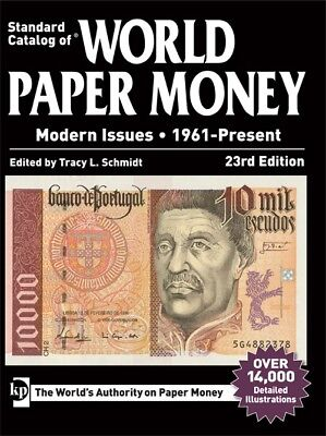 2016 Standard Catalog of World Paper Money, Modern Issues 1961-Present Free S&H