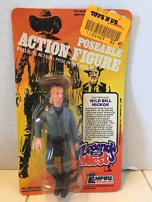 Vintage Legends Of The West WILD BILL HICKOK Action Figure EMPIRE TOYS MOC