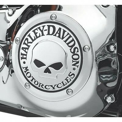 Derby Cover Accesso Frizione Willie G Skull Orig. Harley 25441-04A Dyna Softail