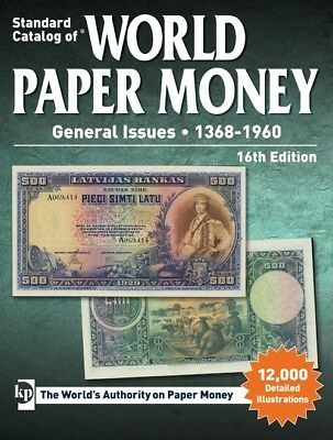 2014 Standard Catalog of World Paper Money General Issues 1368-1960 15th + Free