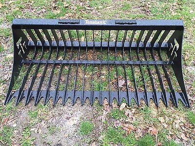 "New 66"" Rock Skeleton Bucket for Skid Steer/Tractor 5 1/2'- fits Bobcat & more"