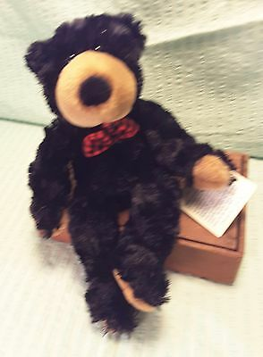 "NWT Princess Soft Toys 'Lil Northwoods Bear 10"" Super Soft Plush"