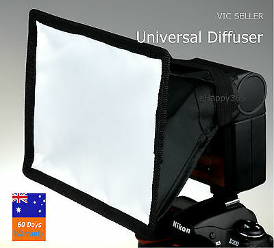 Flash Softbox Difuser for Canon / Nikon Large Size 17cm x 15cm