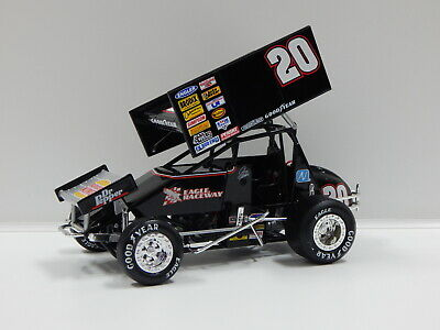 1:18 1999 SPRINT CAR EXTREME BURGER KING (JOHNNY HERRERA) #20 Action Racing Coll