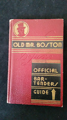 Old Mr. Boston Official Bartender's Guide - Book