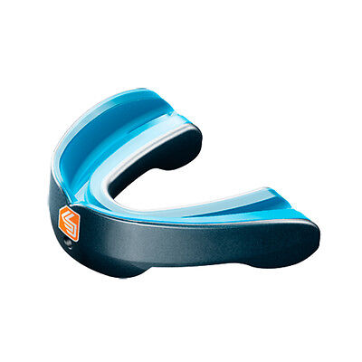 Shock Doctor MouthGuard Gel Nano Convertible Piece Pearl Carbon - Adult
