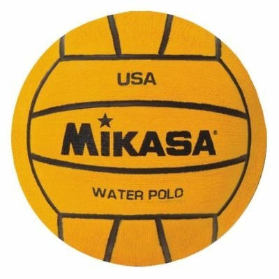 Mikasa USA Water Polo Approved Game Ball, NFHS Approved, Size 4 Compact-Yellow