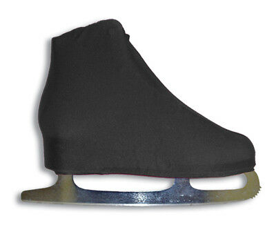 A&R Universal Figure Skate Cover Lycra Stretch Ice Skate Boot Cover Black 5 SCB