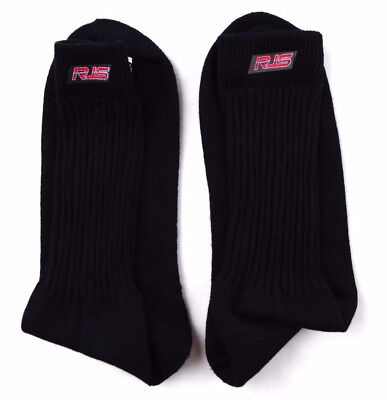 Rjs Racing Equipment Sfi 3.3 Black Xl Racing Socks Underwear Nomex 800070106