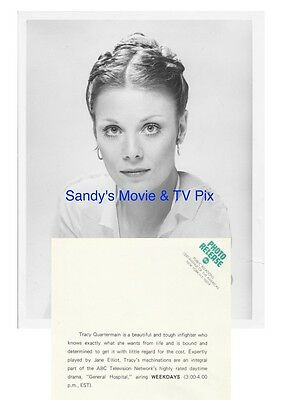 JANE ELLIOT Fantastic ORIGINAL TV Photo GENERAL HOSPITAL