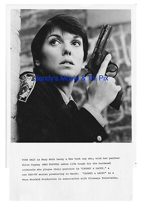 TYNE DALY Fantastic ORIGINAL TV Photo CAGNEY & LACEY