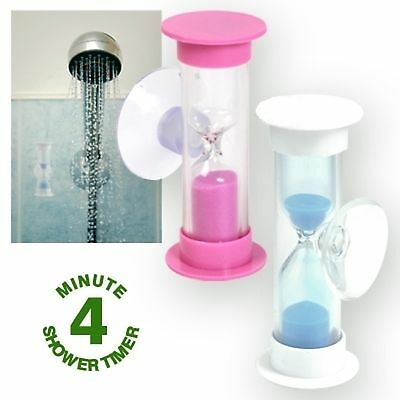 * 4 Min Shower Timer * Save Water * Plus Special Offer *