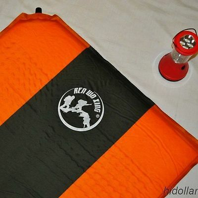 Rectangle Self Inflating Camping Mattress Mat Air Bed High Density Hiking Mat