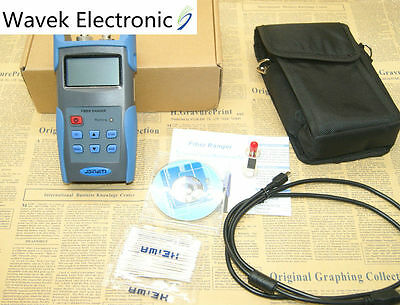Optical Fiber Ranger OTDR Principle Tester Meter 1550 nm simple OTDR JW3304A