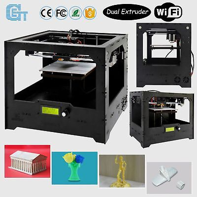 Geeetech 3D Printer Duplicator 5 Dual Extruder with Wi-Fi Module Cloud-based SH