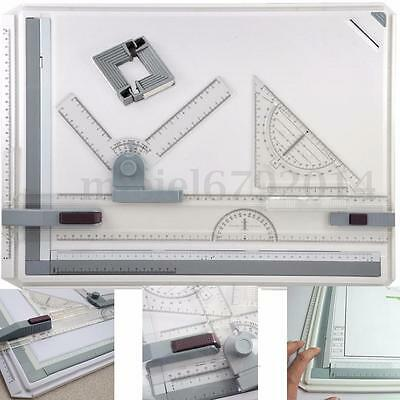 PRO Quality A3/A4 Drawing Board Table with Parallel Motion and Adjustable Angle